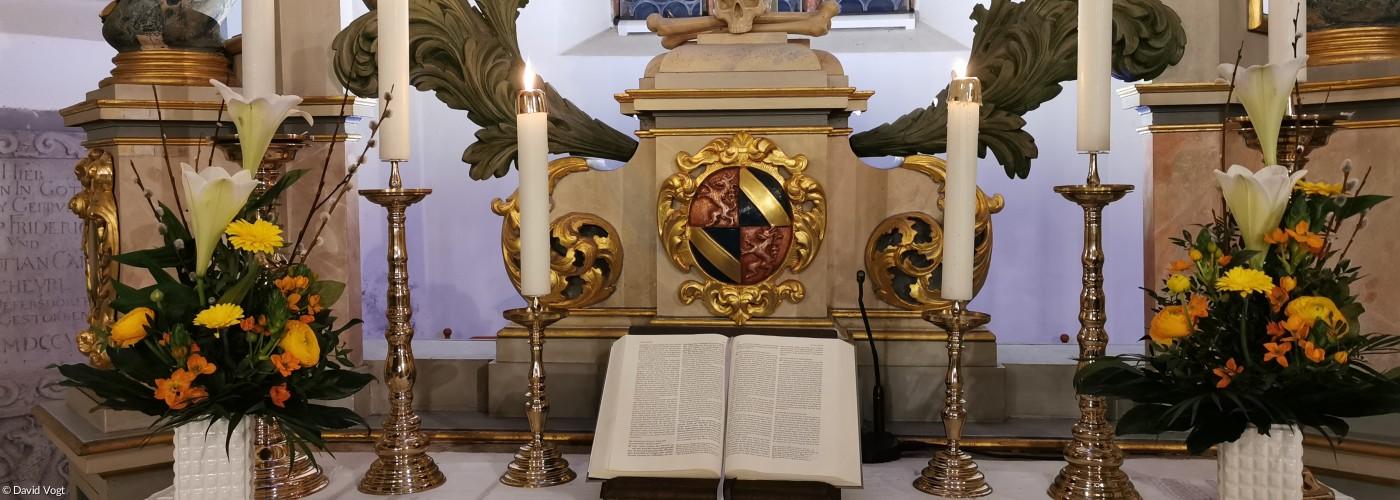 Altar Ostern