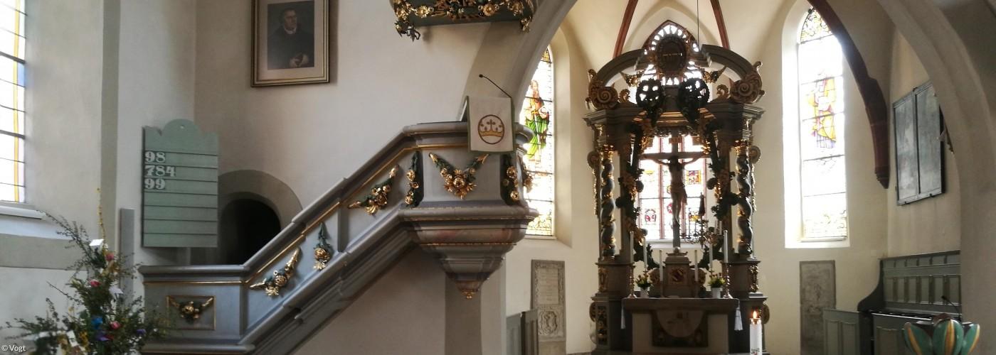 Ostern in Gräfenberger Kirche