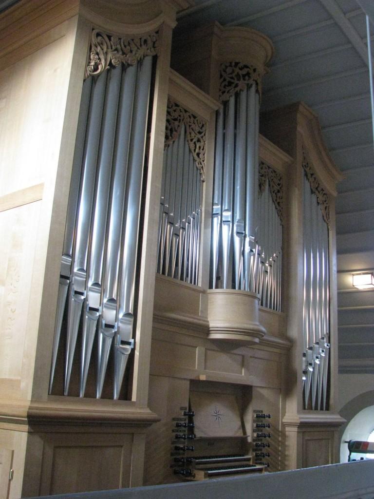 Die neue Orgel aus dem Jahr 2004